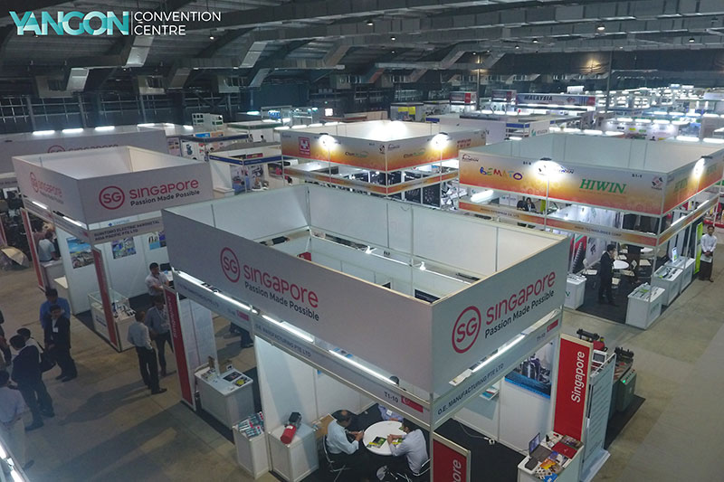 Construction, Power & Mining Myanmar Expo - Yangon Convention Centre